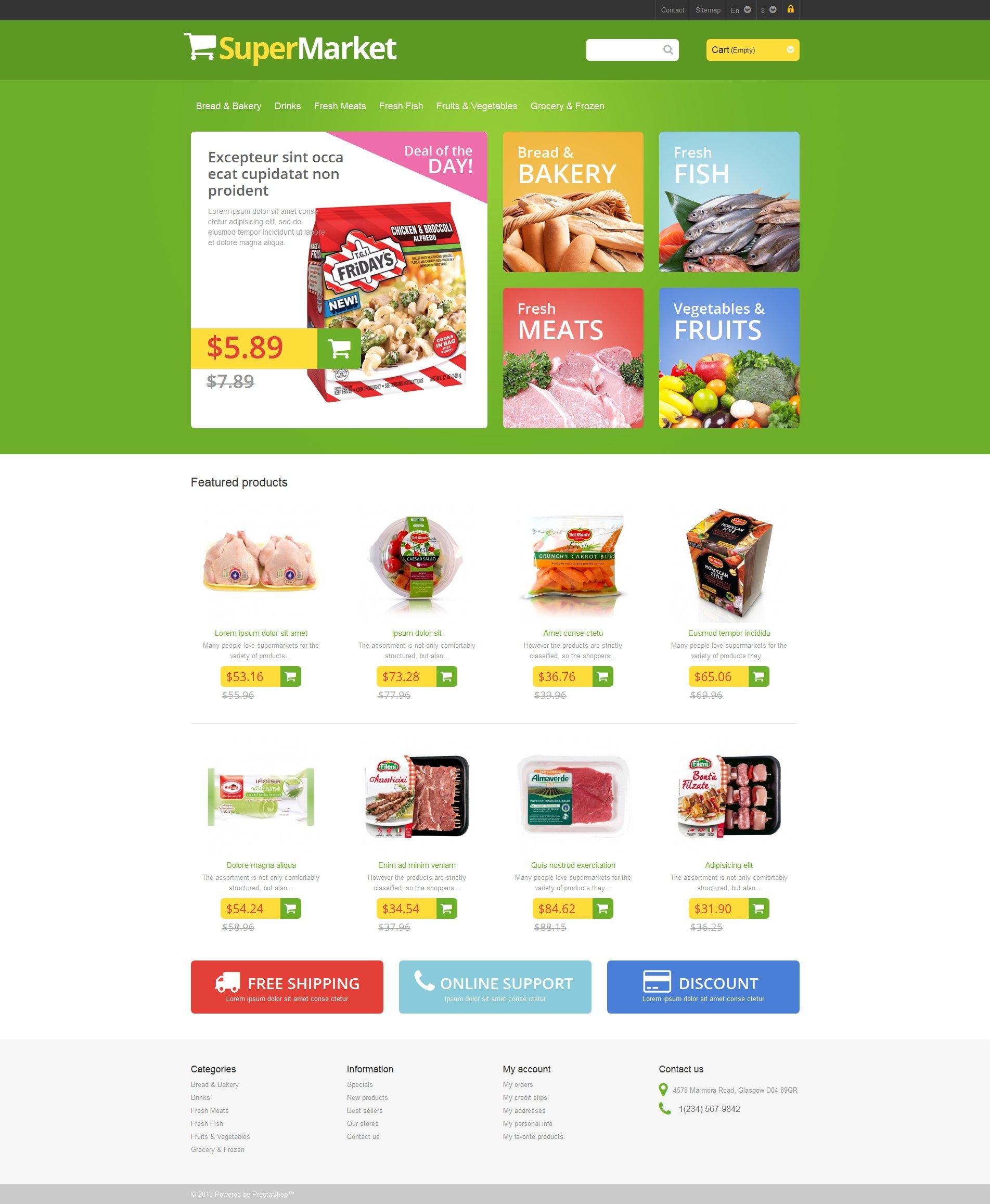 Responsive supermarket prestashop theme 46189 responsive supermarket prestashop theme toneelgroepblik Gallery