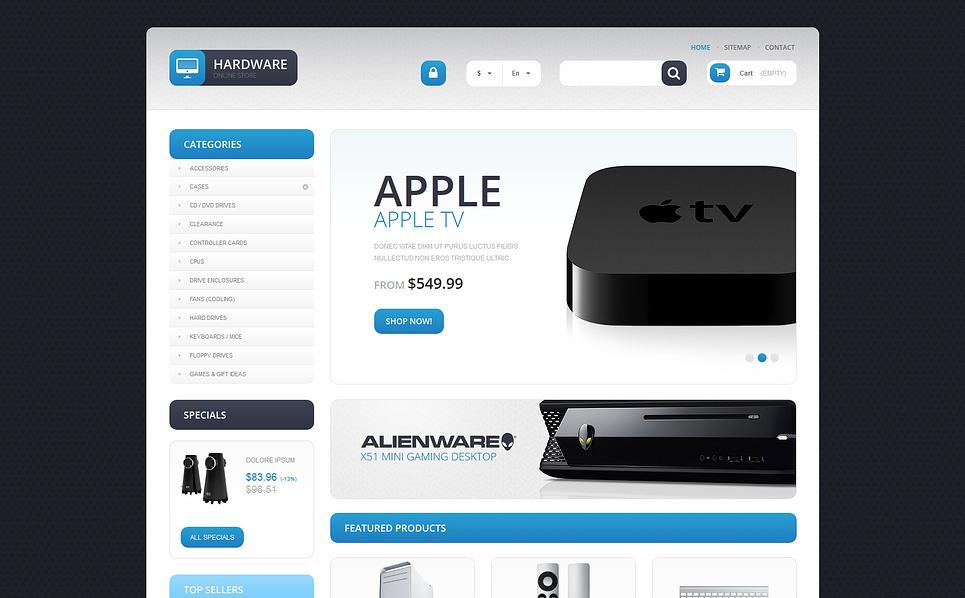 Responzivní PrestaShop motiv na téma Počítačový obchod New Screenshots BIG
