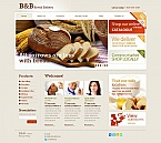 Food & Drink Moto CMS HTML  Template 46214