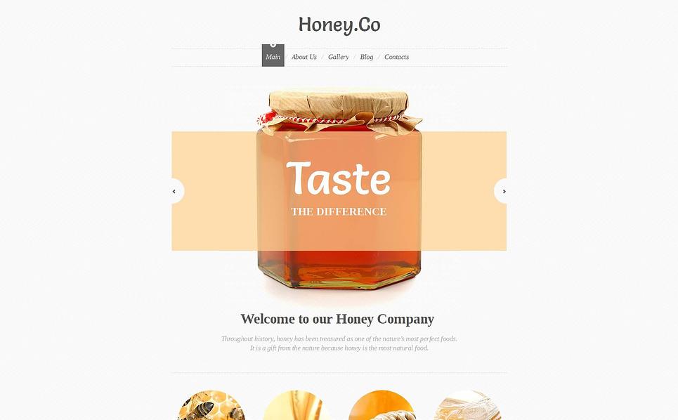 Luxusní Moto CMS HTML šablona na téma Med New Screenshots BIG