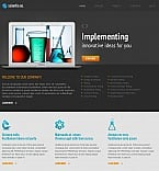 Science Moto CMS HTML  Template 46221