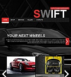 Cars Facebook HTML CMS  Template 46239