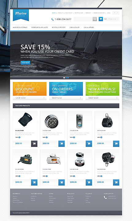 ADOBE Photoshop Template 46249 Home Page Screenshot