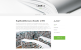 """MagicBook - Library & Shop HTML5"" modèle web adaptatif"