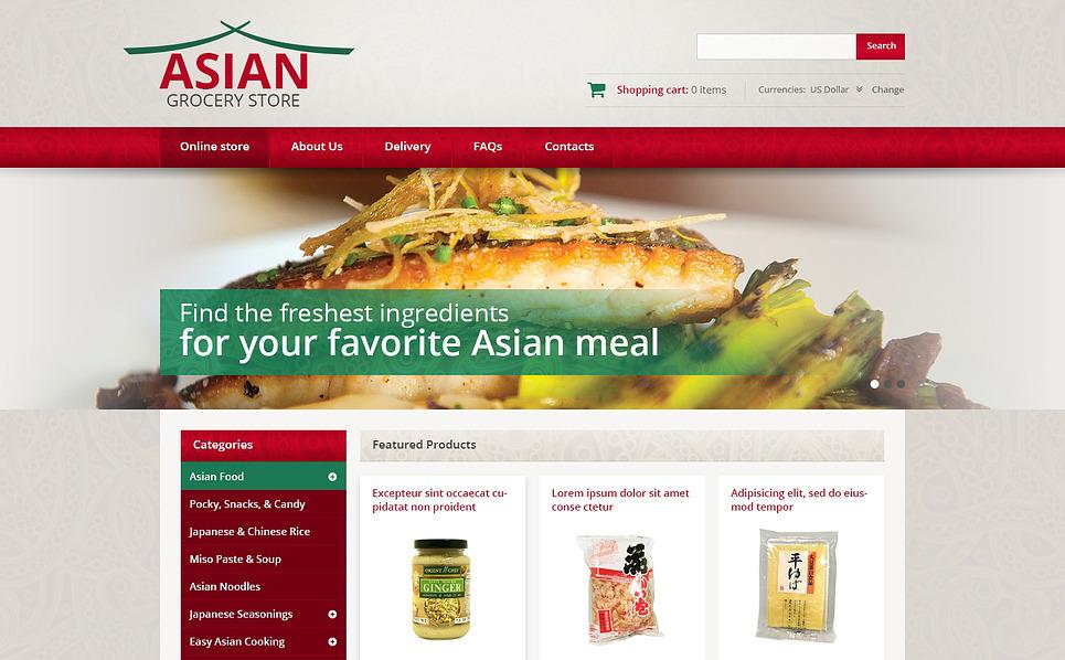 VirtueMart Vorlage für Lebensmittelgeschäft  New Screenshots BIG
