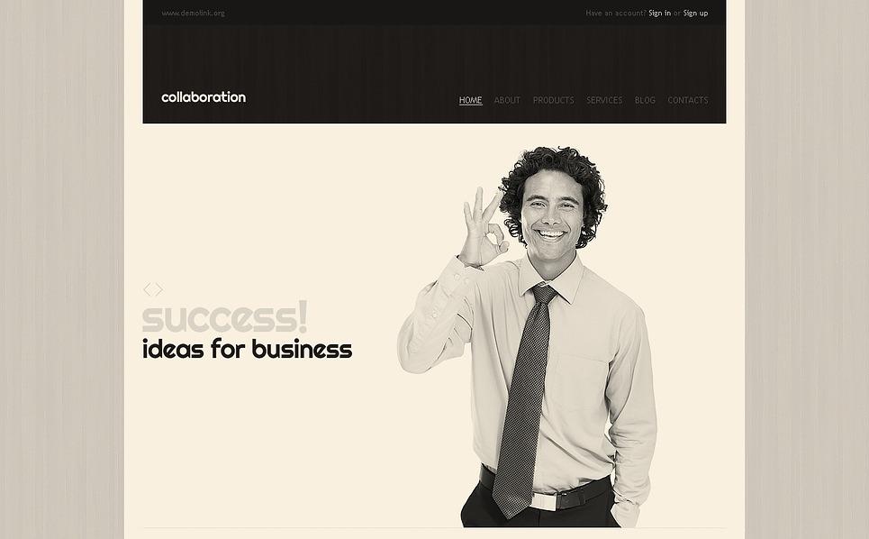 Reszponzív Tanácsadás  Weboldal sablon New Screenshots BIG