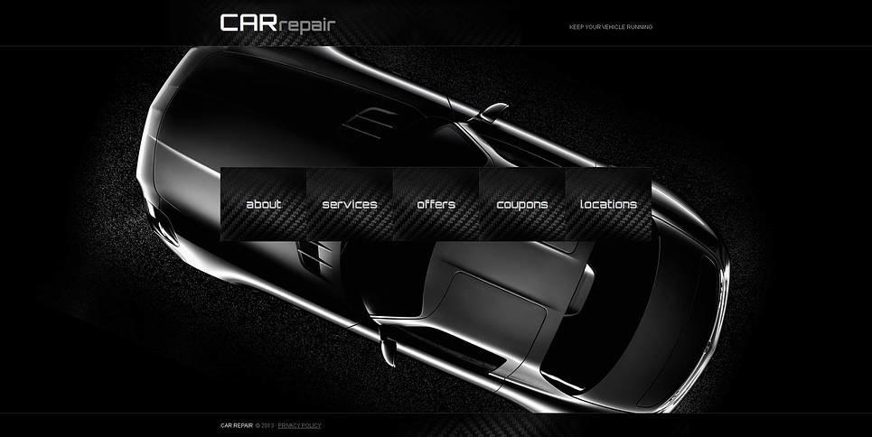 Szablon Moto CMS HTML #46296 na temat: naprawa samochodów New Screenshots BIG