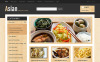 Ázsiai étterem  OpenCart sablon New Screenshots BIG