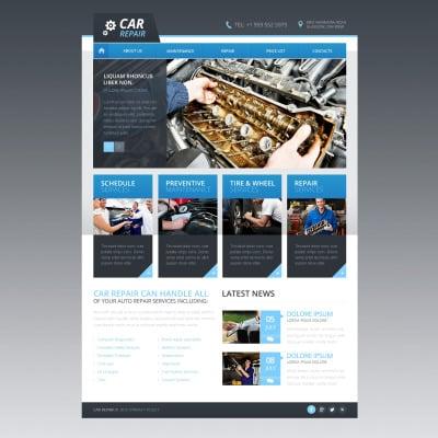 30 best car repair website templates