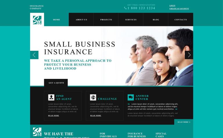 Insurance Advisor WordPress Theme