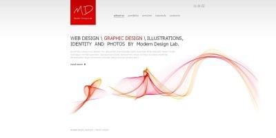 Web Design Moto CMS HTML šablona