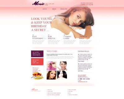 MotoCMS HTML шаблон №46295 на тему пластическая хирургия
