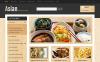 "OpenCart Vorlage namens ""Responsives asiatisches Lebensmittelgeschäft"" New Screenshots BIG"