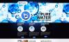 Plantilla Moto CMS HTML #46213 para Sitio de  para Sitio de Agua New Screenshots BIG