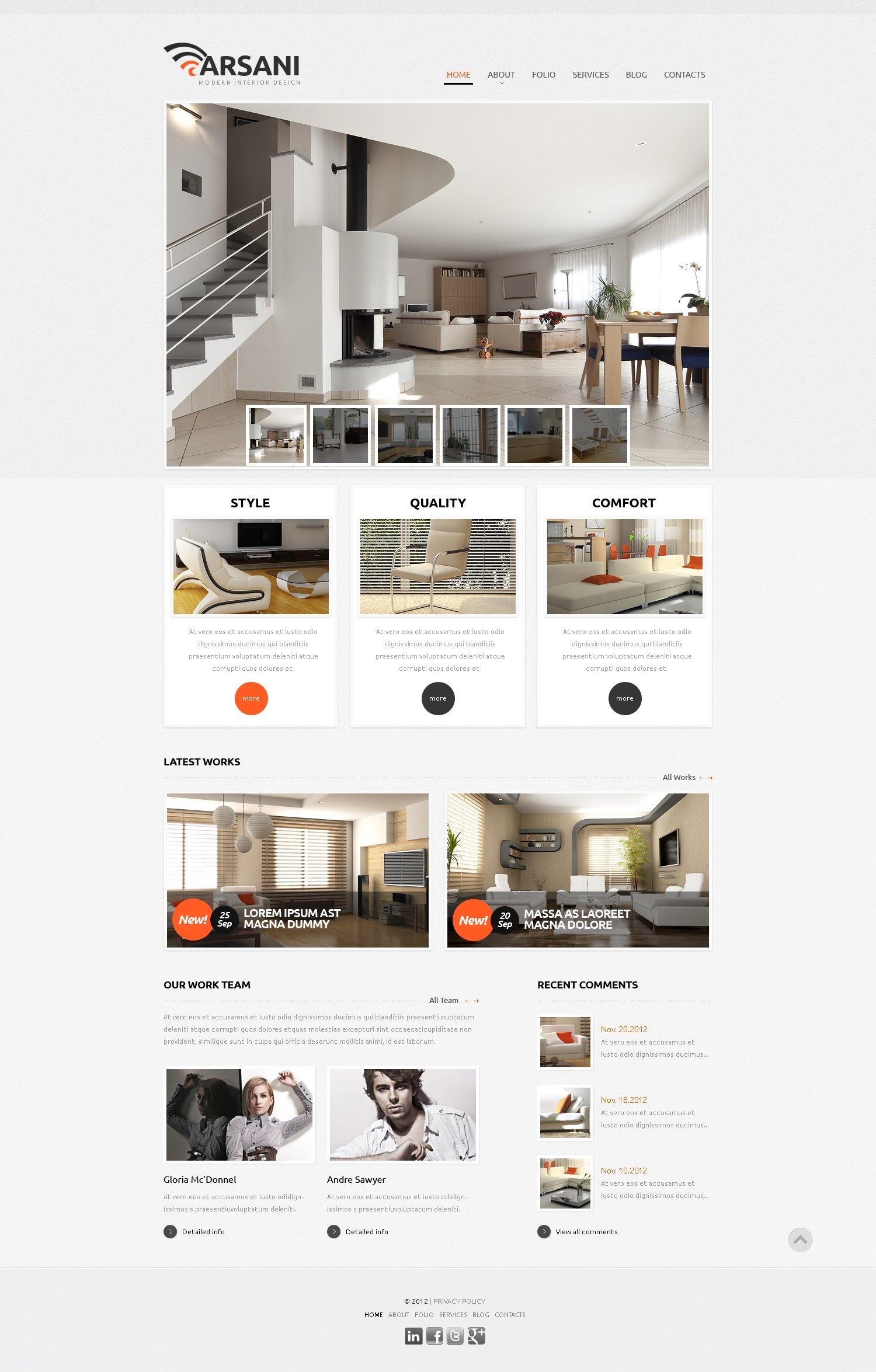 respectable interior design wix website template 46257. Black Bedroom Furniture Sets. Home Design Ideas