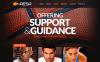 Responsive Website Vorlage für Basketball  New Screenshots BIG