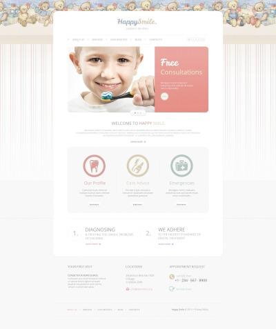 Dentistry Tema Moto CMS HTML