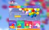 "VirtueMart шаблон ""Balloons & Party Items"" New Screenshots BIG"