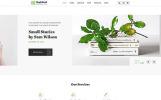 "Website Vorlage namens ""MagicBook - Library & Shop HTML5"""