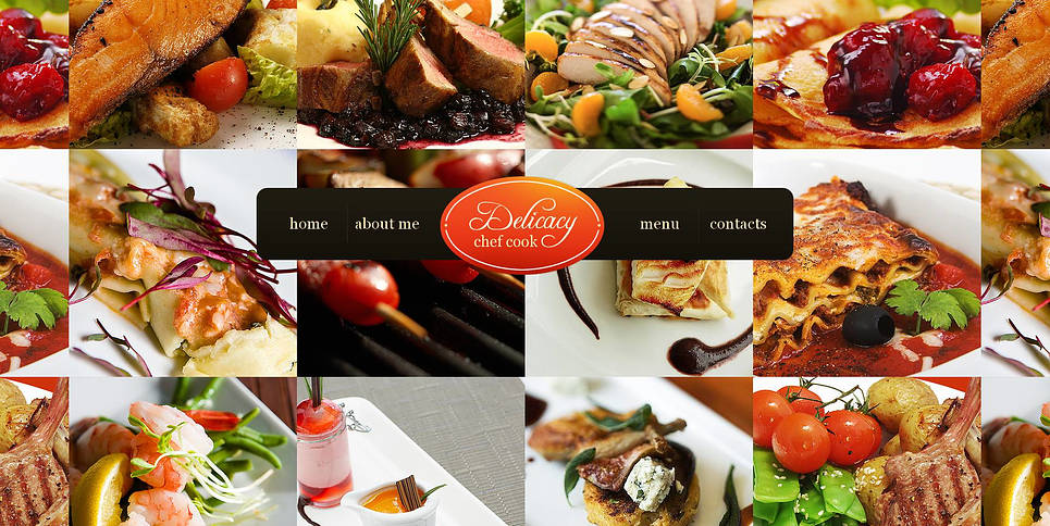 Cooking Website Template with a Photography Background - image