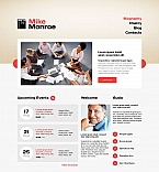 Personal Page Moto CMS HTML  Template 46312