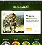 Animals & Pets Facebook HTML CMS  Template 46325