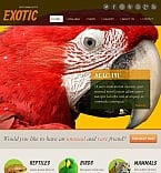 Animals & Pets Facebook HTML CMS  Template 46327