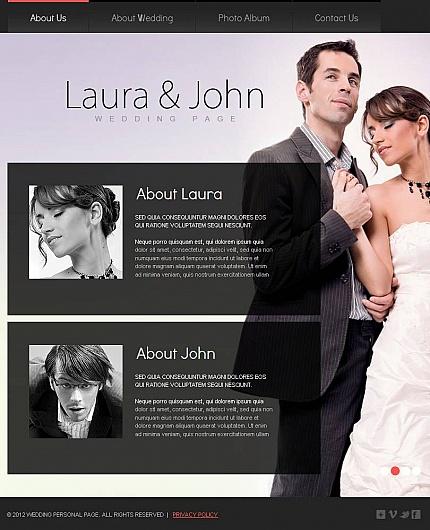 ADOBE Photoshop Template 46332 Home Page Screenshot