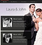 Wedding Facebook HTML CMS  Template 46332