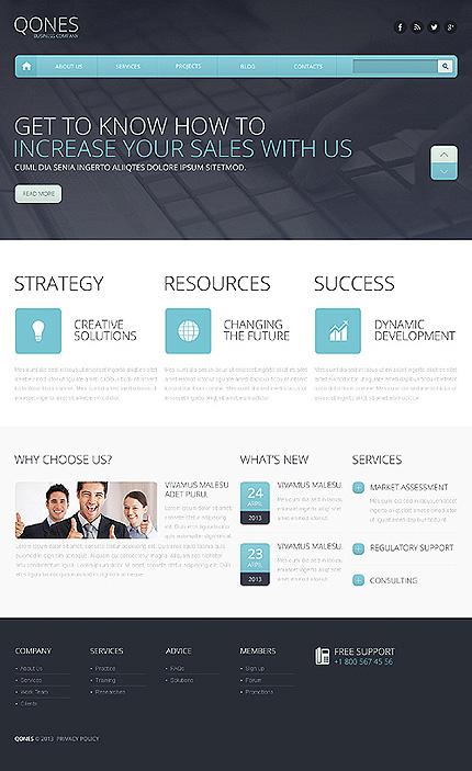 Drupal Template 46351 Main Page Screenshot