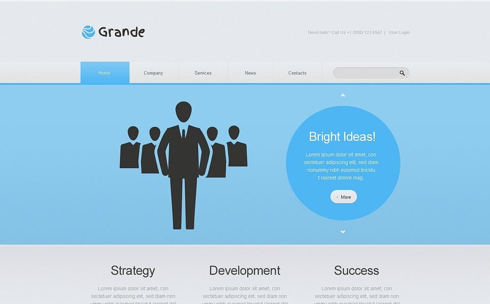 Адаптивный HTML шаблон №46354 на тему маркетинговое агентство New Screenshots BIG