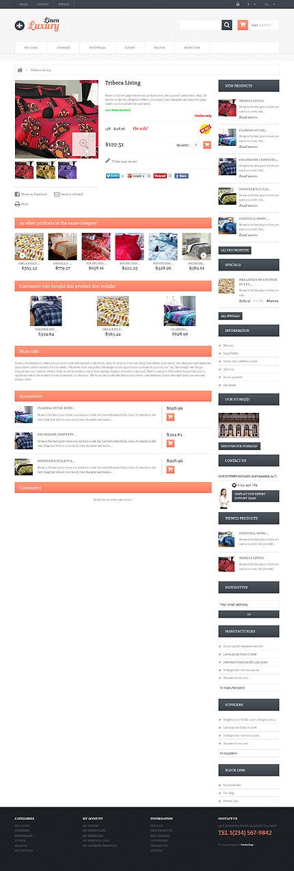 ADOBE Photoshop Template 46357 Home Page Screenshot