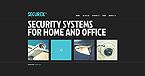 Security Website  Template 46359