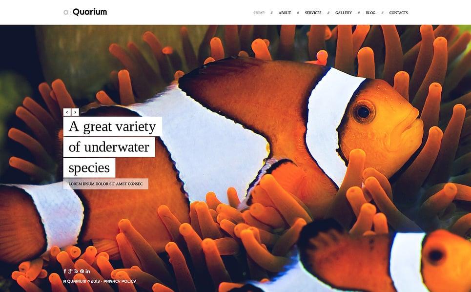 Website Vorlage für Fisch  New Screenshots BIG