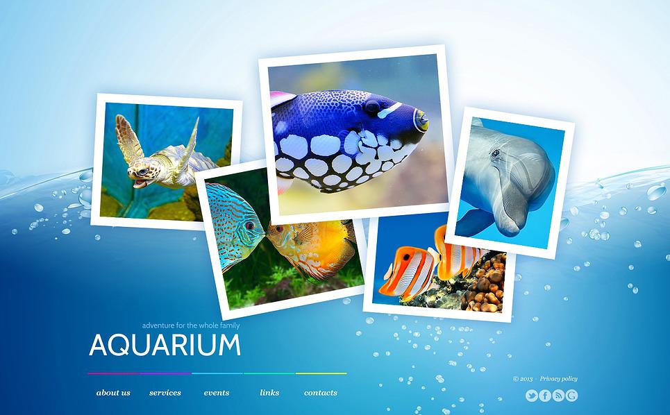 Bootstrap Šablona webových stránek na téma Rybaření New Screenshots BIG