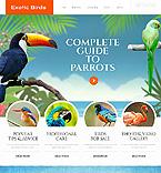 Animals & Pets Website  Template 46369