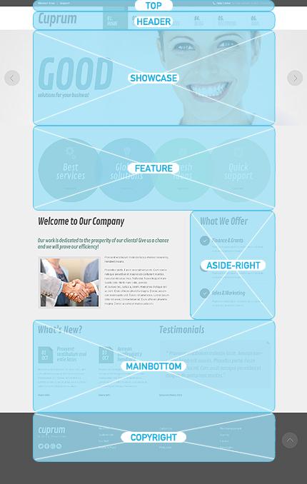 Joomla Theme/Template 46372 Main Page Screenshot