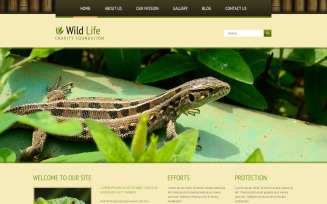 Wild Life Responsive Joomla Template