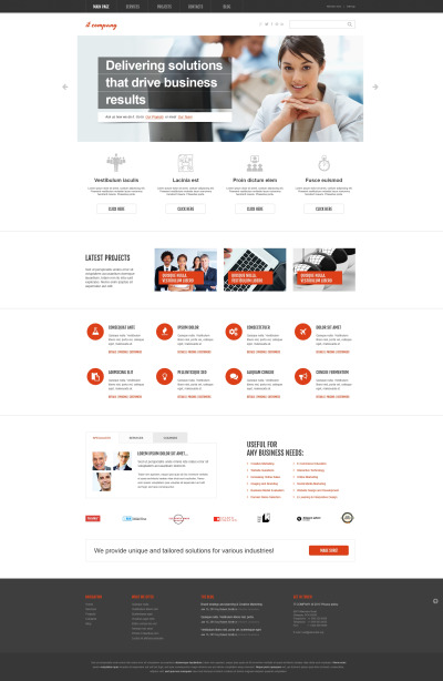 IT Responsivt WordPress-tema