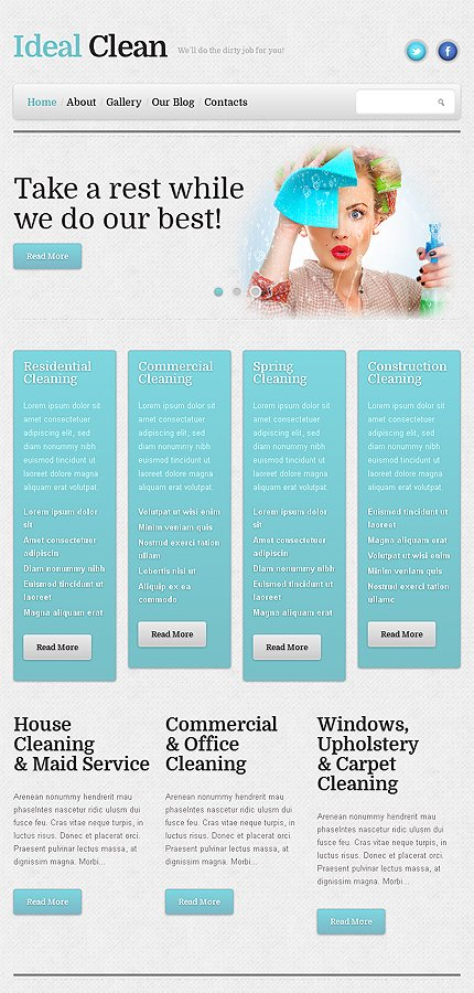 WordPress Theme/Template 46386 Main Page Screenshot