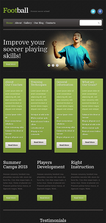 WordPress Theme/Template 46387 Main Page Screenshot