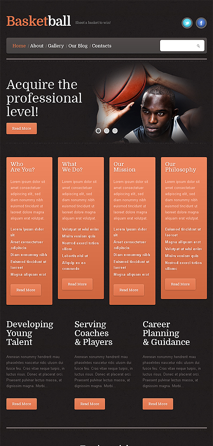 WordPress Theme/Template 46388 Main Page Screenshot