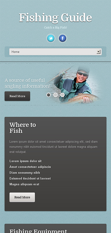 WordPress Theme/Template 46389 Main Page Screenshot