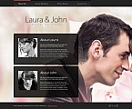 Wedding Moto CMS HTML  Template 46393