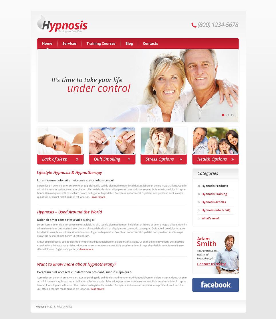 Адаптивный шаблон сайта на тему медицина #46378