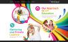 Bootstrap Шаблон сайту на тему мистецька школа New Screenshots BIG