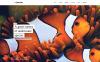 Bootstrap Шаблон сайту на тему риба New Screenshots BIG