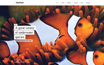 HTML шаблон №46361 на тему рыба