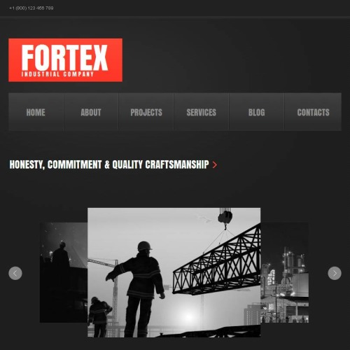 Fortex - Facebook HTML CMS Template