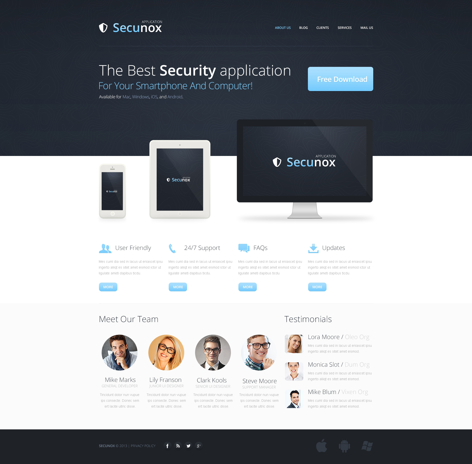 Information security drupal template 46390 information security drupal template pronofoot35fo Gallery